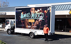 Boost Mobile Billboard